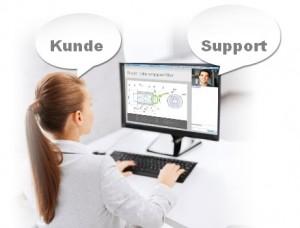 Remote Support für den Mitarbeiter Training und Support
